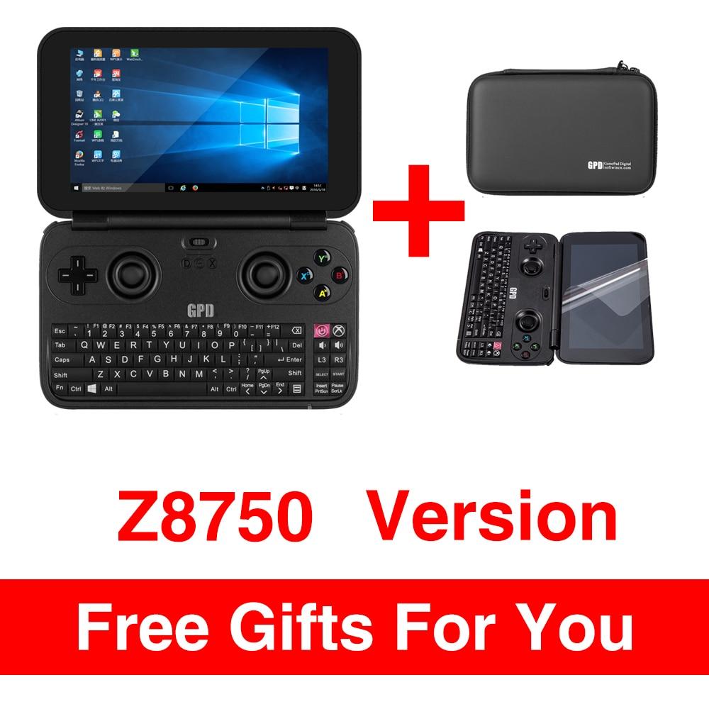 GPD WIN Aluminium Shell Mini Game Laptop Notebook 5.5 CPU x7-Z8750 Windows 10 Bluetooth 4.1 4GB/64GB(Black)