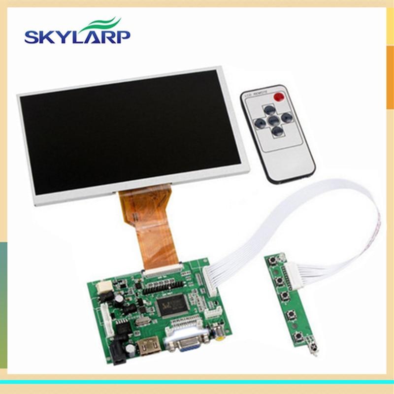 Skylarpu 9''Inches Raspberry Pi LCD Display Screen TFT Monitor AT090TN12 with HDMI VGA Input Driver Board Controller 800*480WVGA skylarpu for 9 inches raspberry pi lcd display screen tft monitor at090tn12 lcd with hdmi vga input driver board controller