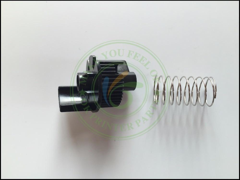 Toner Reset Lever Flag Gear side end cap for Brother TN630 TN660 HL-L2300 L2320 L2340 L2360 L2365 L2380 L2520 L2540 L2720 L2740 toner reset chip for oki c810 c830 jp version