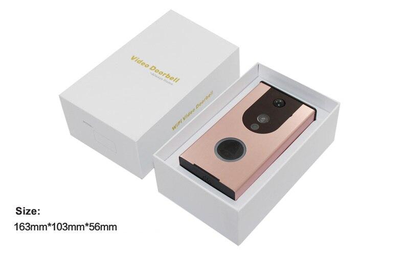 doorbell box size