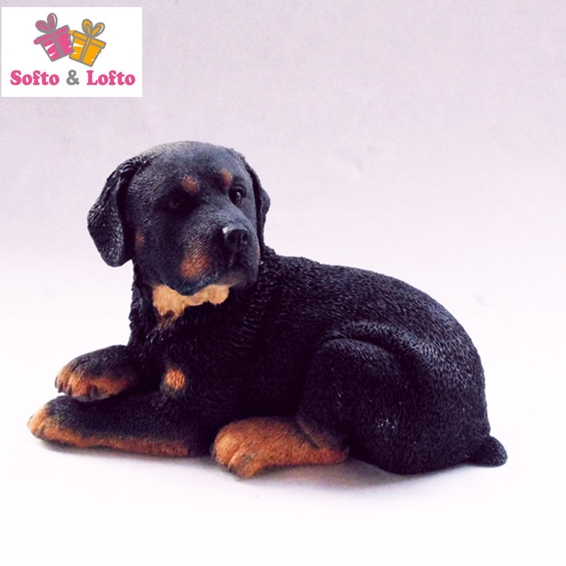 Artificial resin rottweiler dog figure,car styling pet doggy home decorations collection article Christmas birthday gift toy quality the scottish border collie dog figure car styling home room decoration doggy puppy article christmas birthday gift toy