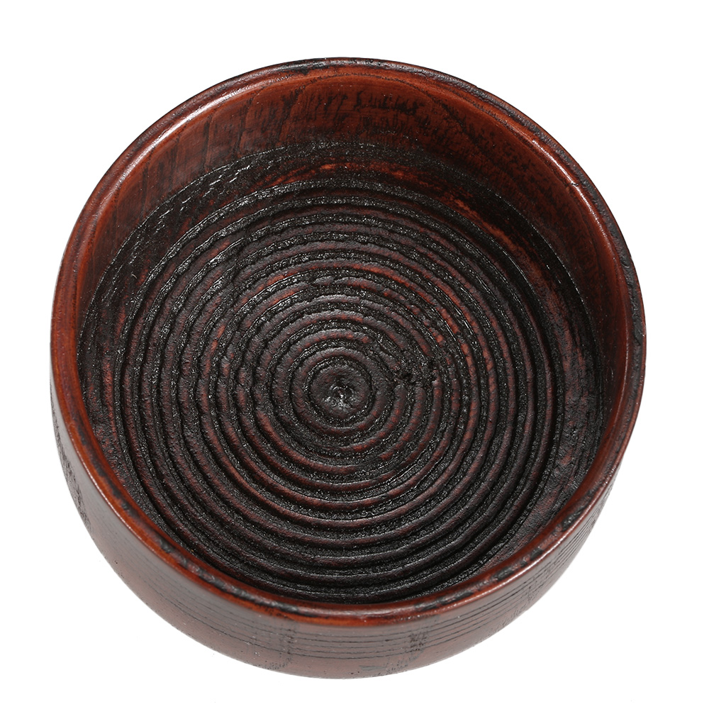 High Quality Wooden Shaving Brush Bowl High Quality Shaving Mug Shave Cream Soap Cup Portable Male Face Cleaning Soap Bowl