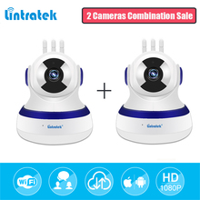 hot deal buy lintratek hd 1080p ip camera wifi mini cctv video surveillance 2 in 1 pack cloud storage home security wireless baby monitor