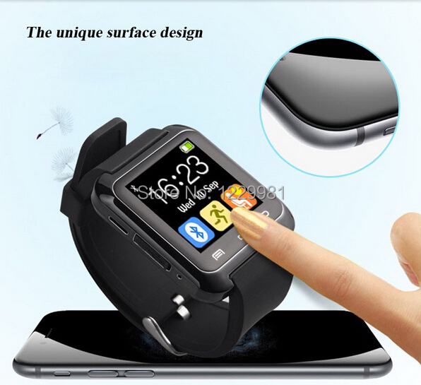 Bluetooth Smart U80 Watch BT notification Anti Lost MTK WristWatch for iPhone Samsung Android Phone