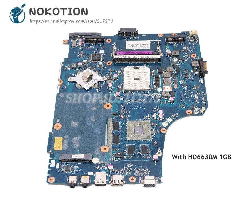 NOKOTION For Acer aspire 7560 7560G Laptop Motherboard MBRQF02001 MBDUMMY026 P7YE5 LA 6991P Socket FS1 HD6630M 1GB|Motherboards| |  - title=