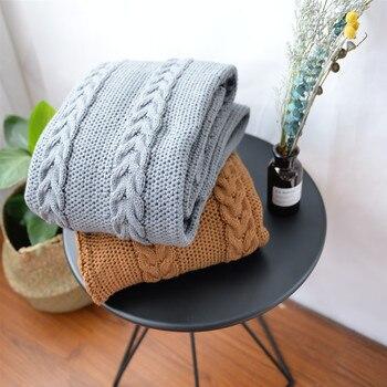 Bedding all seasons acrylic  knitted blanket 130*180cm wearable comforter , bed cover, pet blanket,wearable blanket, car blanket