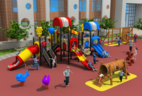 CE, ISO, TUV открытая площадка сад пластиковые слайд Пепси дом серии дети оборудование для игр на открытом воздухе YLW OUT171039