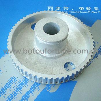28 teeth L type round belt pulley flat belt pulley 10mm width 6pcs a pack