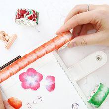 Kawaii Da Videira Da Flor/pétala Fita Washi para a Menina DIY Recados Adesivo Decorativo Fita Adesiva Papelaria Bala Revista Suprimentos
