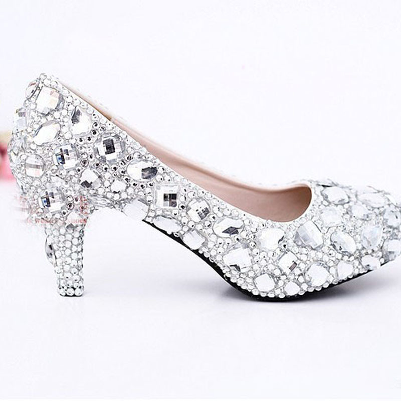 Magnificent Silver Dress Shoes For Prom Illustration - Wedding Plan ...