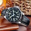 2019 Nieuwe Mode Heren Horloges Cagarny Militray Sport Quartz Mannen Horloge Lederen Waterdichte Mannelijke Horloges Relogio Masculino