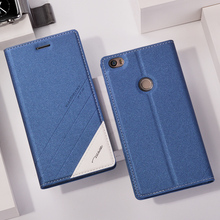 Фотография Original for Xiaomi Mi Max Case luxury Magnetic pu Flip Cover Smart Case for Xiaomi Mi Max Back Cover Wake Up Sleep Protector
