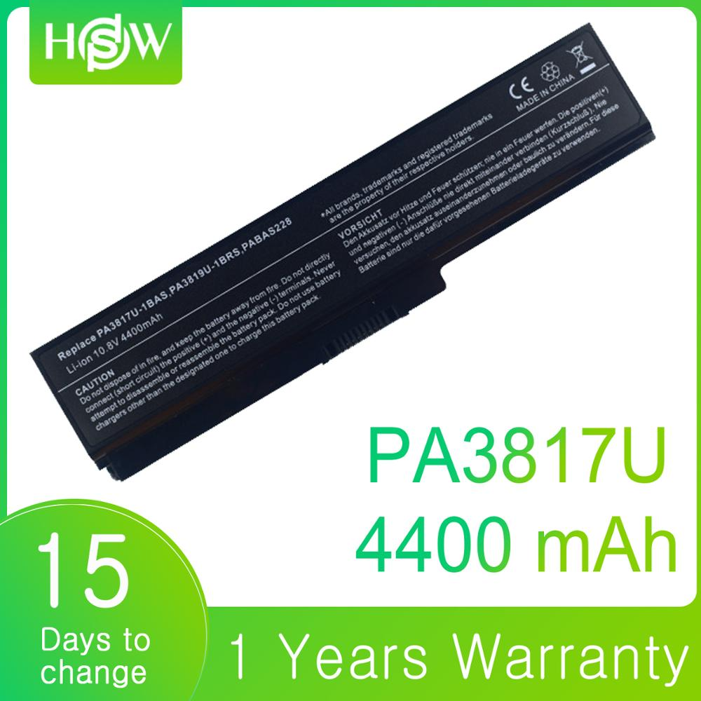PABAS230 PABAS229 PABAS228 PABAS227 PA3817 PA3816U-1BRS Laptop Battery For Toshiba Satellite L770 L775 L300 L500 L750 A600 A655