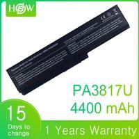 PABAS230 PABAS229 PABAS228 PABAS227 PA3817 PA3816U 1BRS Laptop Battery for Toshiba Satellite L770 L775 L300 L500 L750 A600 A655