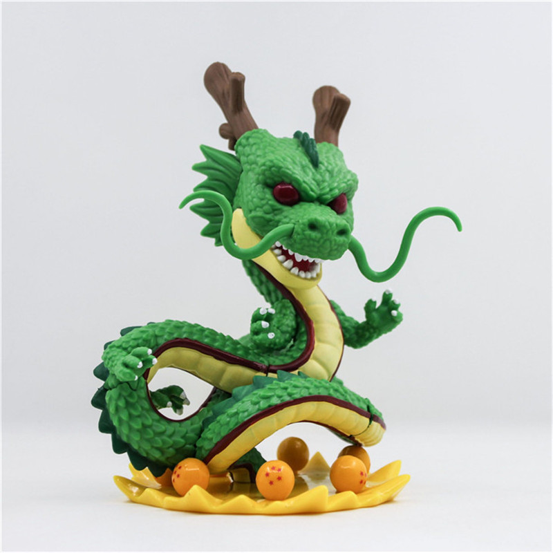 где купить 15cm Dragon Ball Z Action Figures Q version Shenron 265# Dragonball Z PVC figure collection model toys for gift по лучшей цене
