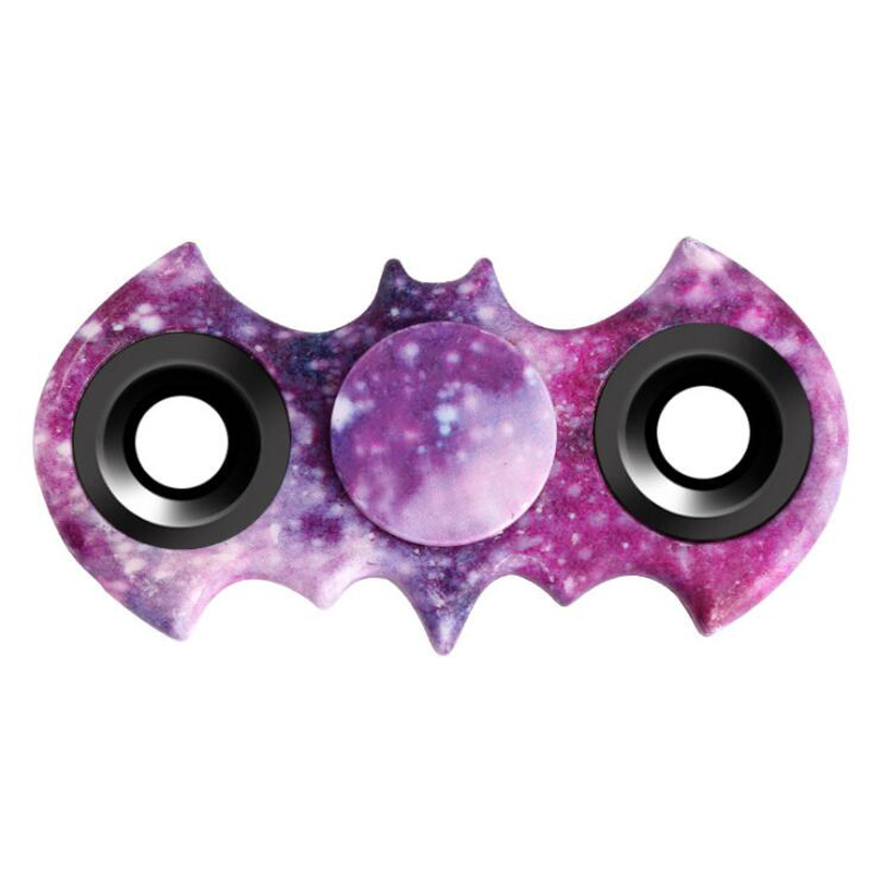 Hand Spiner Fidget Batman Stress Cube Finger Spinner Tri-Spinner Toy For Adults...