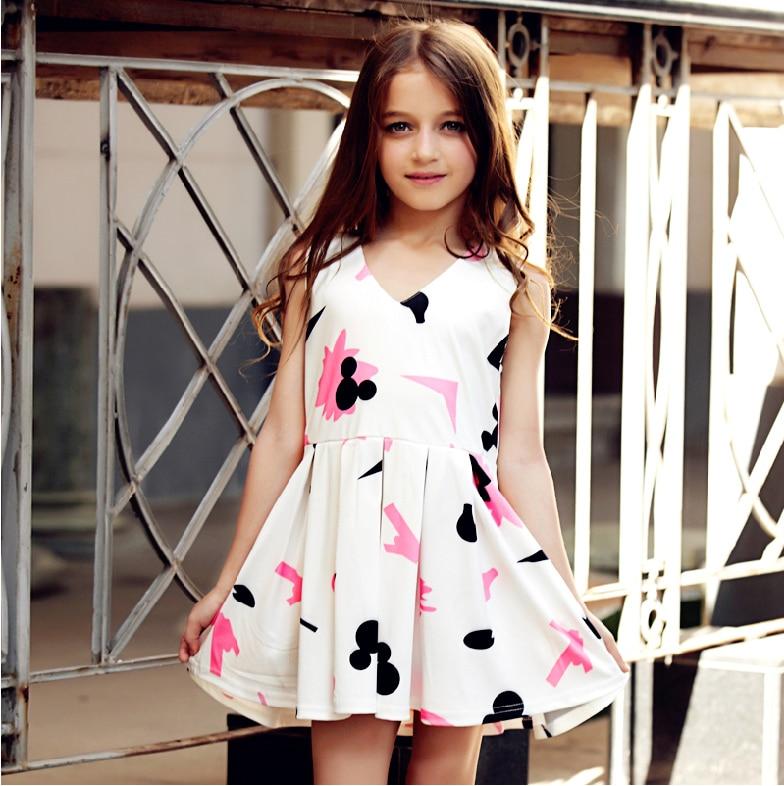 Little Girls Dress Summer Pocket Dress Vestidos Sleeveless Floral Print Sundress size 3 4 5 6 7 8 9 10 12 years dress for girl 1k3198 printhead print head for kodak 10 10xl 10c 10bk esp 3 5 7 9 3250 5100 5300 5500 5210 5250 7250 9250 6150 hero 7 1 9 1 6 1