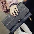 Classic Plaid  Women Designer Handbags Daily Clutch Date Shoulder Bag