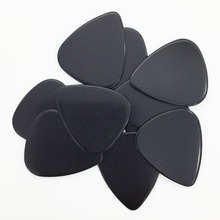 10 pieces 0.46 mm Celluloid Guitar Pick Mediator for Acoustic Electric 10 Colors Custom