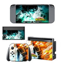 Nintendo Switch NS Vinyl Skins Sticker For Nintendo Switch Console and Controller Skin Set – Anime My Hero Academia Film