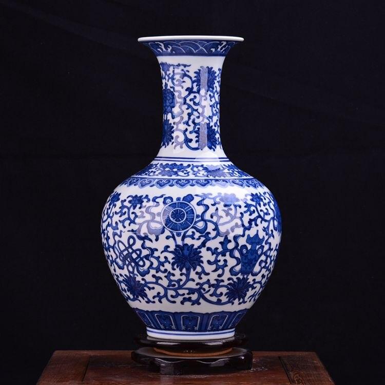 Shipping Jingdezhen ceramics antique porcelain vase flower jewelry craft ornaments are Home Furnishing living roomShipping Jingdezhen ceramics antique porcelain vase flower jewelry craft ornaments are Home Furnishing living room