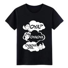 цена Haikyuu oya haikyuu t shirt Customized Short Sleeve S-XXXL Letters Gift Breathable summer Standard shirt онлайн в 2017 году