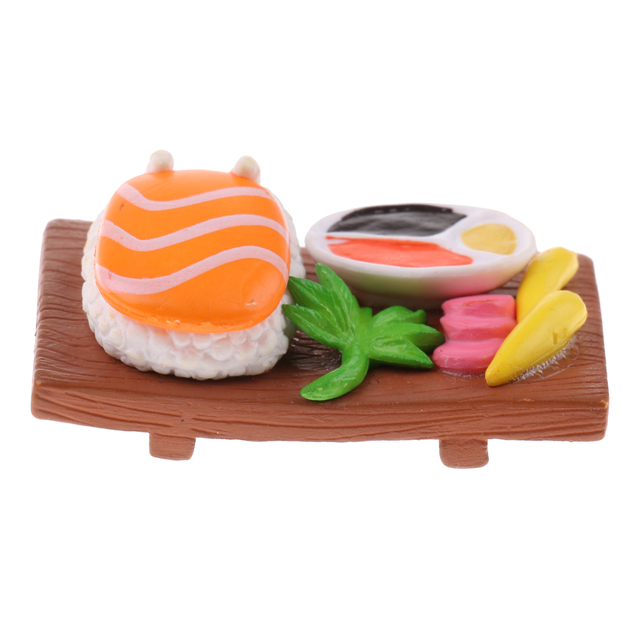 1/12 Doll House Miniature Resin Vivid Japanese Sushi