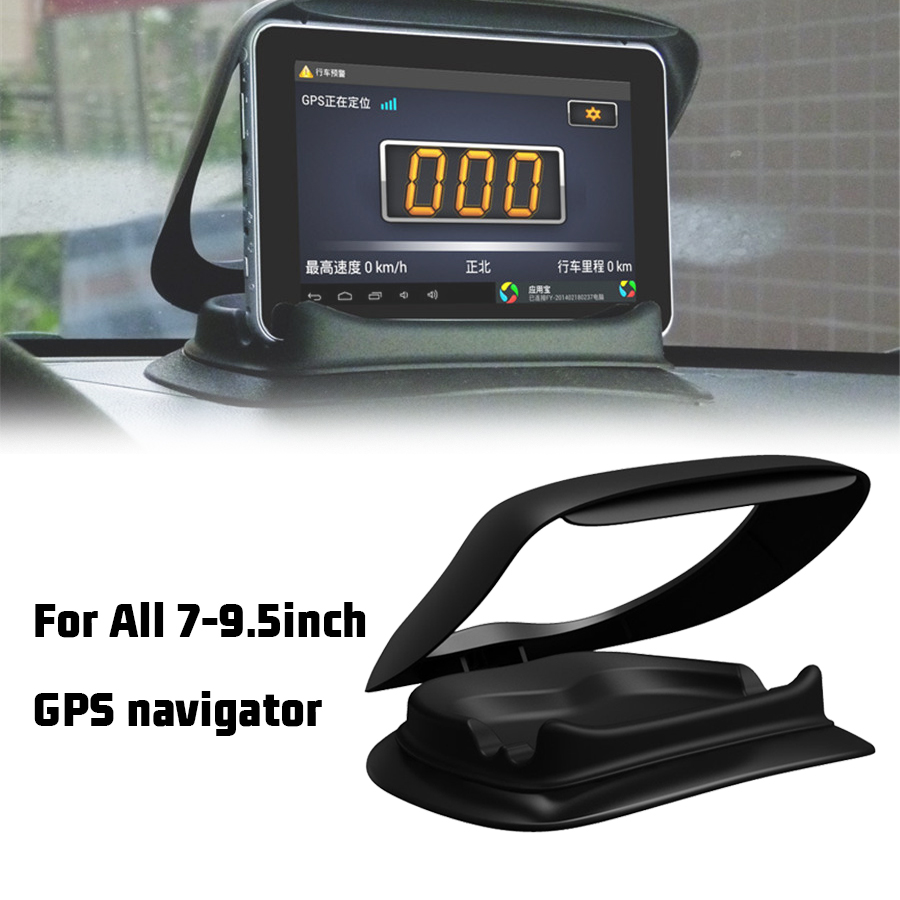 """Car Center console Sun Protection holder PDA GPS Phone Mount Holder Support Stand Phone Holder 7""""-9.5""""Universal"""