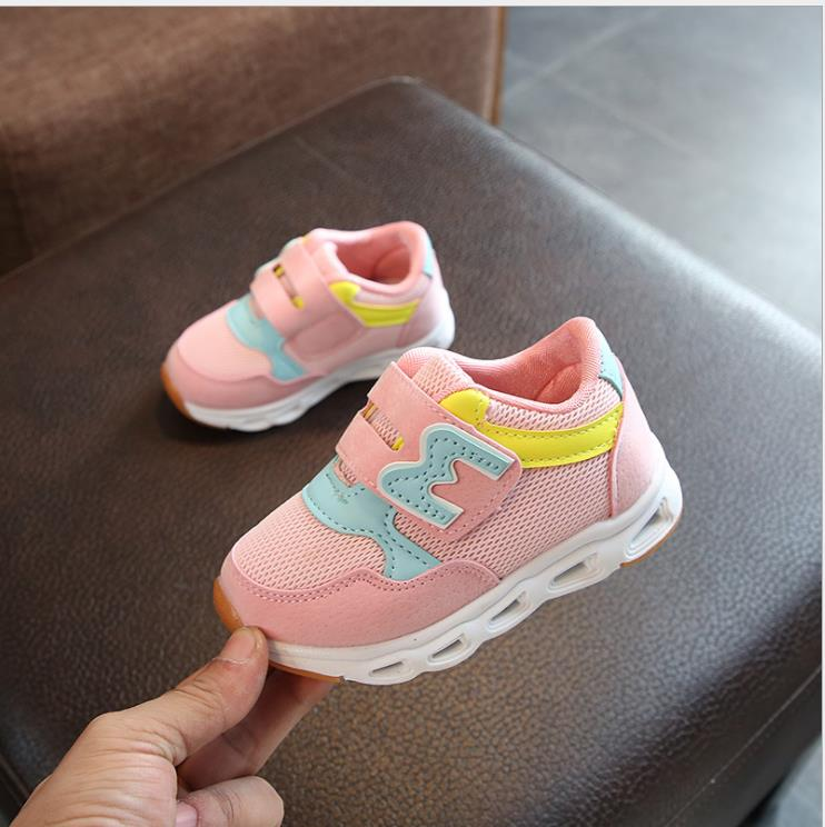 Children Sports Shoes Boys Breathable 2019 Spring Autumn Casual Sneakers Girls Sports Students Running Shoes Kids Mesh TrainersChildren Sports Shoes Boys Breathable 2019 Spring Autumn Casual Sneakers Girls Sports Students Running Shoes Kids Mesh Trainers