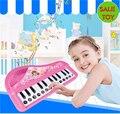 Piano electrónico del bebé niños childern toys juguete de instrumentos musicales de piano de aprendizaje y educativos juguetes reproductor de música toys