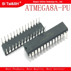 1pcs/lot ATMEGA8A-PU ATMEGA8L-PU ATMEGA8L ATMEGA8A ATMEGA8 DIP-28 8-bit with 8K Bytes In-System Programmable Flash