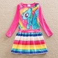 3 4 5 Лет Девочки Одежда Euramerican Стиль Милые Платья Детские Товары Одежда Девочки Платье