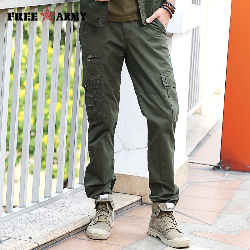 Brand Quality Mens Joggers Pants Summer Casual Pants Trousers Men Army Green Joggers Mens Fitted Sweatpants Jeans Male Mk-7195A