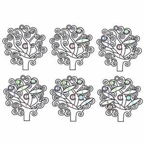 Image 2 - Amxiu Custom משפחה צוות עץ שרשרת 925 כסף סטרלינג תליון שרשרת לחרוט שם אבן המזל תכשיטי לחברים מזכרות