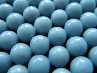 Free Shipping Natural Strand Blue Angelite 8mm 48 Beads 10mm 39 Beads Smooth Round Charm Blue