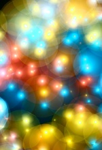 Laeacco Colorful Bubble Light Bokeh Scene Baby Child Photographic Backgrounds Customized Photography Backdrops For Photo Studio стоимость