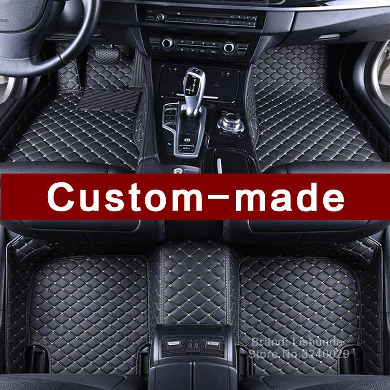Detail Feedback Questions About Leather Car Floor Mat Carpet Rug For