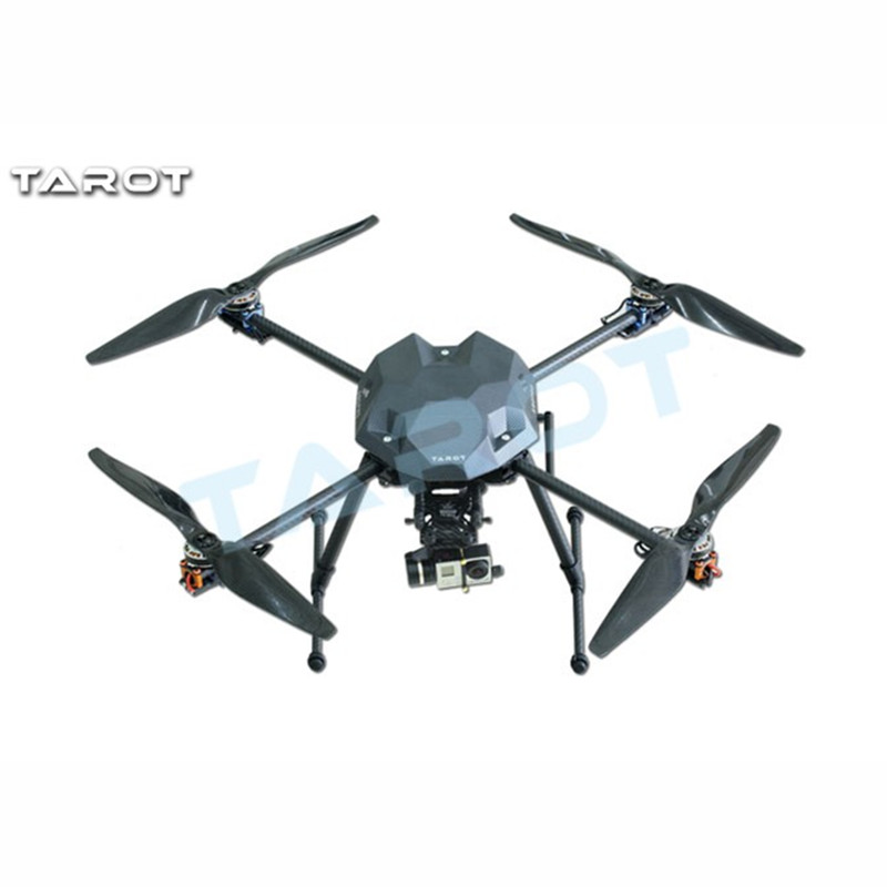 Tarot-RC XS690 TL69A01 Sport Quadcopter with Metal Electric Retractable Landing Gear Skid kit TL8X002 Controller tarot tl69a02 metal electric retractable landing gear skid kit for tarot xs690 tl69a01 wheelbase 400 700 multicopter fpv f17602
