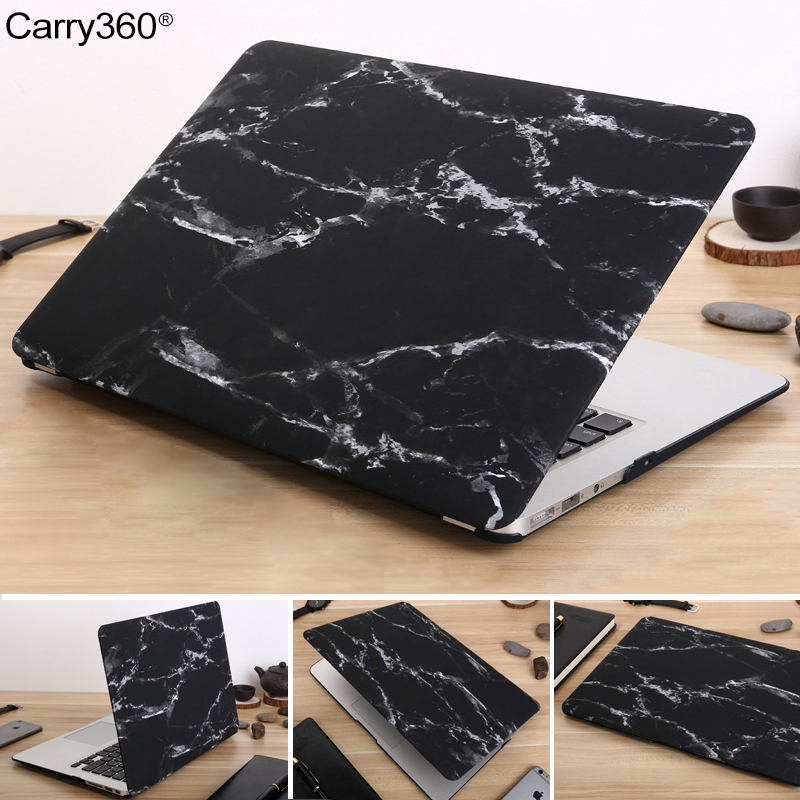 Carry360 NEW Marble Texture Case For Apple Macbook Air Pro Retina 11 12 13 15 laptop bag For Mac book Air 13 Pro 13 Retina 13 15