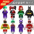Marvel Avengers Super Heroes figuras de juguete Ladrillos Bloques Huecos de Los Niños Superman Batman Iron Man Hulk spiderman Lepin