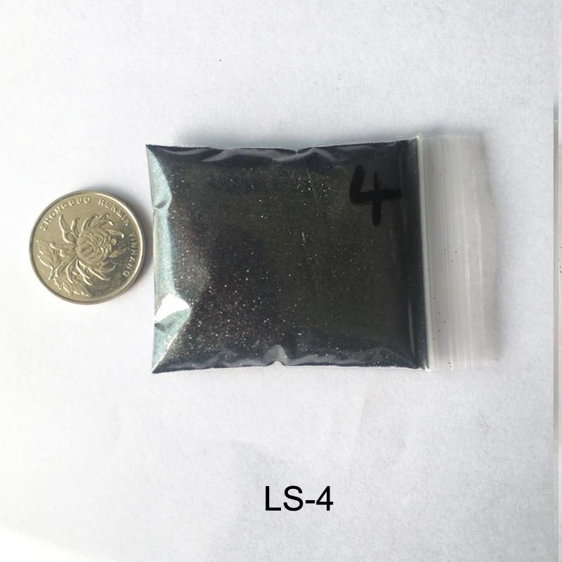 Rikonka 10G голографический блестящий порошок Сияющий сахар ногтей Блеск Лидер продаж пыли порошок для ногтей искусство украшения 21 Цвета - Цвет: LS-4