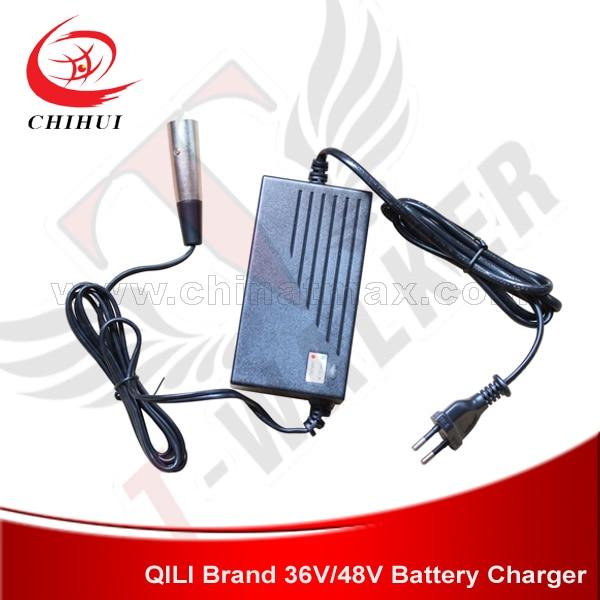 Prix pour Scooter électrique Chargeur 36 V Plomb-Acide Chargeur de Batterie avec AC100-240V 50/60Hz Entrée et 2 Broches Rondes (Pièces et Accessoires Scooter)