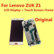 FOR Lenovo ZUK Z1 LCD Display+Touch Screen +Frame+ Tools 100% Original Digitizer Assembly Replacement Accessories For Phone