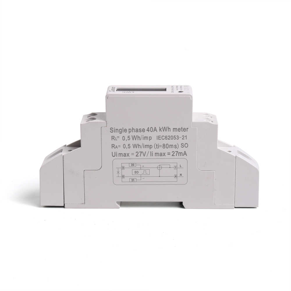 良質手頃な価格単相 2 パワーメータ高精度液晶消費電力計 230V 50Hz/110 V 60Hz samll のサイズ