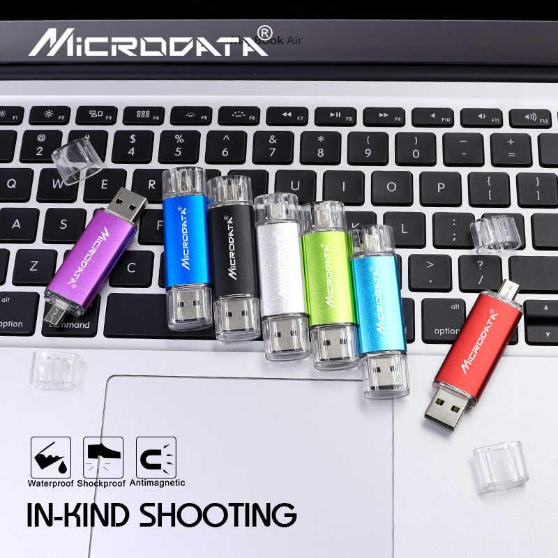 Big desconto usb 2.0 pen drive gb gb 16 8 4gb OTG unidade flash usb do metal pendrive 32gb 64gb memory stick 128gb cle usb para telefone/pc