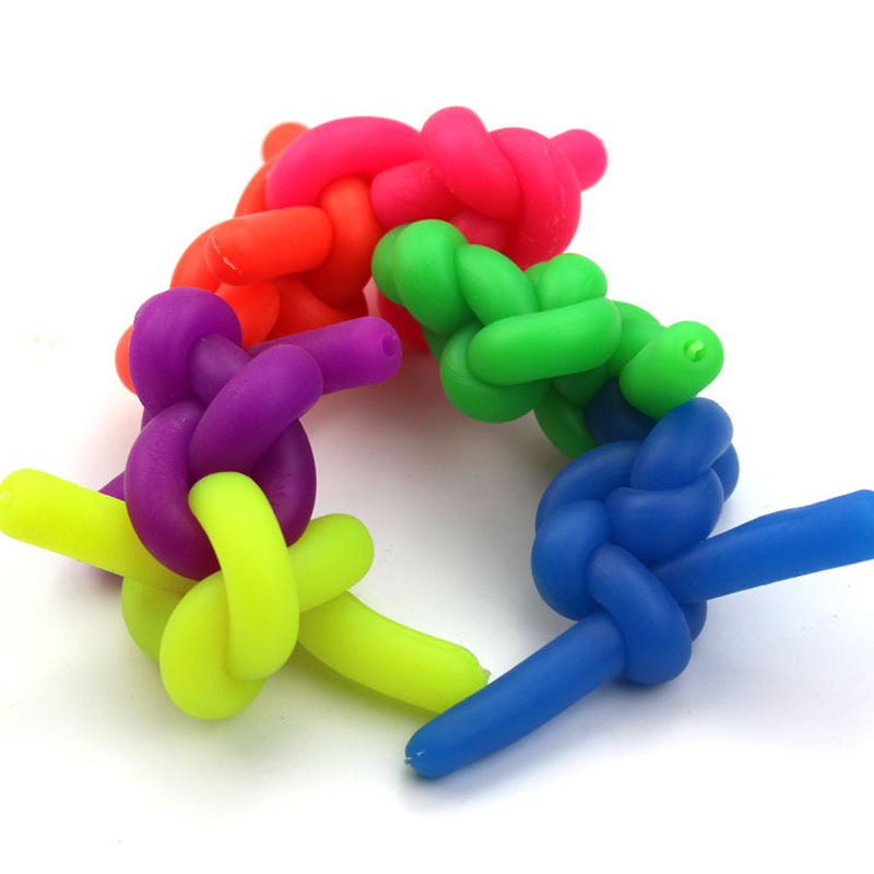 Stretchy string fidgets noodle autism//adhd//anxiety squeeze fidgets sensory TBEEL
