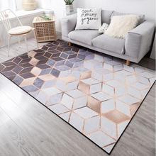 Nordic Geometric Carpets For Living Room Bedroom Rugs Metal Style Area Rug Home Carpet Floor Door Mat Decoartive tapete parlor