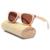 Skate de madeira óculos de sol das mulheres marca de luxo designer óculos moda masculina óculos polarizados óculos de sol de madeira óculos de sol-3008
