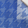 New French Swallow Gird Jacquard Woven Fabric Designer Fashion Show Clothes Fabric Sewing Casual Office Lady
