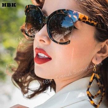 Top Oversized Kính Mát Màu Đen Thời Trang Phụ Nữ Lớn Kích Thước Lớn Gương Retro Sun Glasses Lady Nữ Cổ Điển Thiết Kế Thương Hiệu UV400